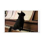 Piano Kitty Wall Decal