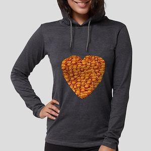 Potato Latke Heart Long Sleeve T-Shirt