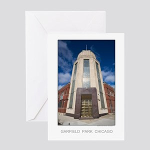 Art Deco Factory Greeting Card
