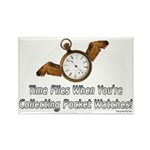 Time Flies1 Rectangle Magnet (100 pack)