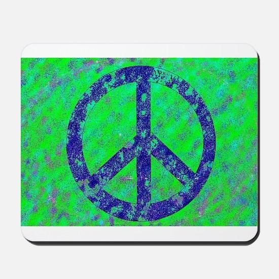 Splatter Peace Mousepad