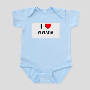 I LOVE VIVIANA Infant Creeper
