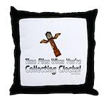 Time Flies2 Throw Pillow