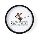 Time Flies2 Wall Clock