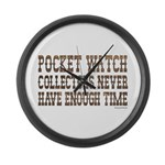 Enough Time1 Large Wall Clock