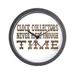 Enough Time2 Wall Clock