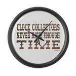 Enough Time2 Large Wall Clock