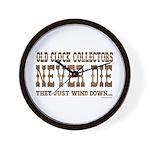 Wind Down2 Wall Clock