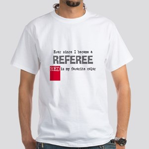 Red Card White T-Shirt