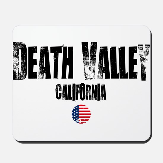 Death Valley Grunge Mousepad
