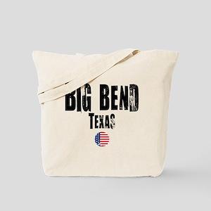 Big Bend Grunge Tote Bag