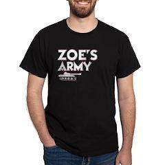 Zoe's Army shirt - dark
