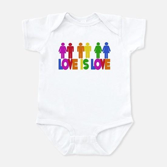 Love is Love Infant Bodysuit