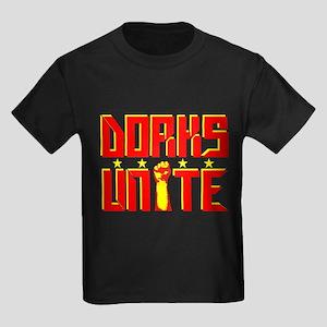Dorks Unite Kids Dark T-Shirt