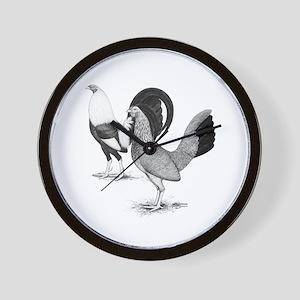 American Game Fowl2 Wall Clock