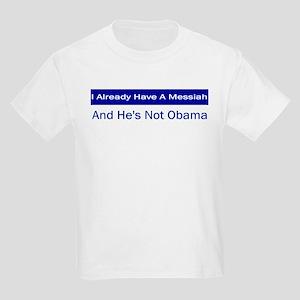 Not My Messiah Kids Light T-Shirt