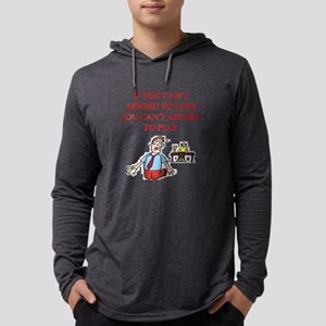 Gambling joke Long Sleeve T-Shirt