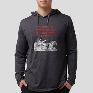 Gambling joke Long Sleeve T-Shirt