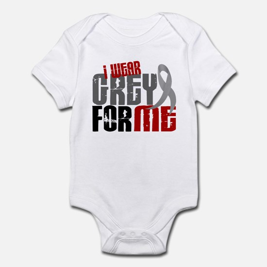 I Wear Grey For Me 6 Infant Bodysuit