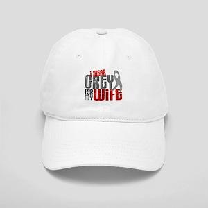 I Wear Grey For My Wife 6 Cap