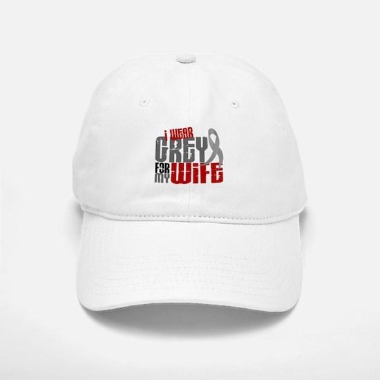 I Wear Grey For My Wife 6 Baseball Baseball Cap