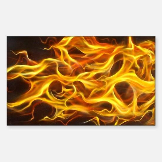 Purple Flame Horizontal E-Cig Skin
