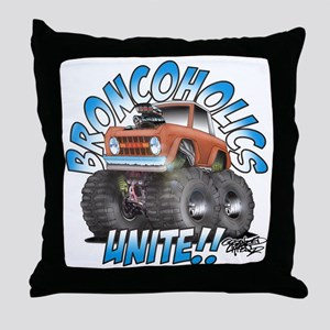 BroncoHolics Unite!!! - Early Throw Pillow