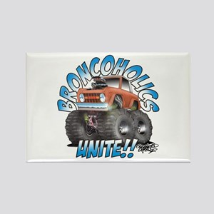 BroncoHolics Unite!!! - Early Rectangle Magnet