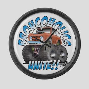 BroncoHolics Unite!!! - Early Large Wall Clock