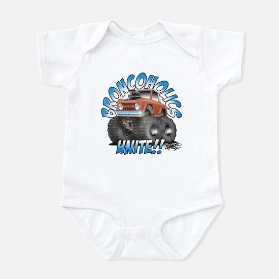 BroncoHolics Unite!!! - Early Infant Bodysuit