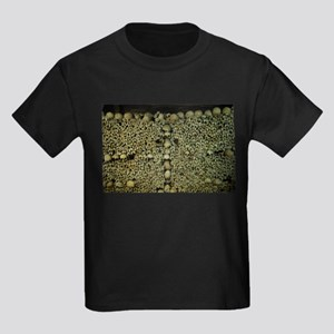 Paris Catacombs Kids Dark T-Shirt