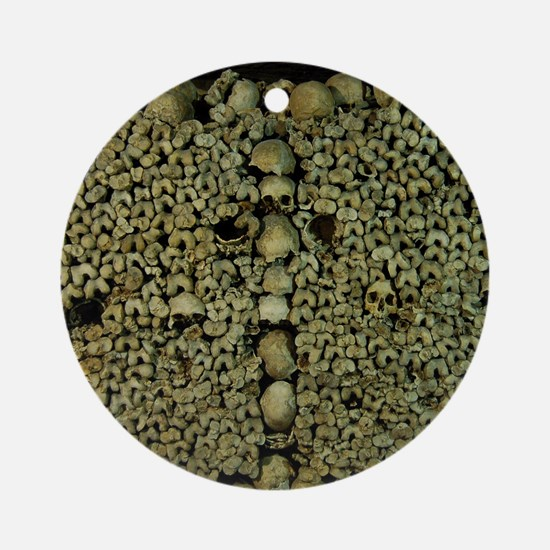Paris Catacombs Ornament (Round)