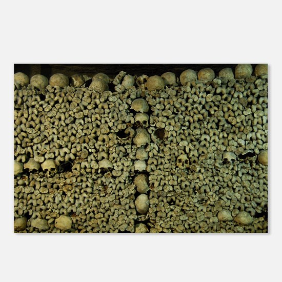 Paris Catacombs Postcards (Package of 8)