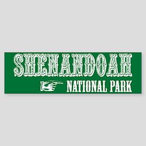 Shenandoah Western Flair Bumper Sticker