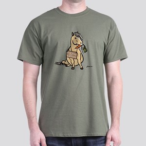 Funny Horse Dark T-Shirt