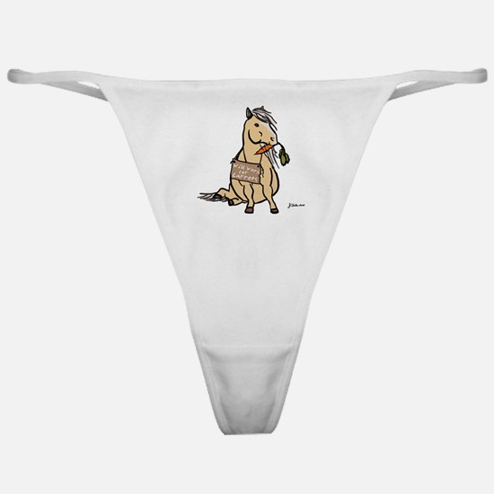 Funny Horse Classic Thong