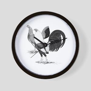 American Game Fowl Wall Clock