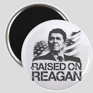 Raised on Reagan Magnet