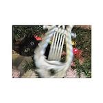 Christmas Tree Kitten Magnets