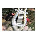 Christmas Tree Kitten Postcards (Package of 8)
