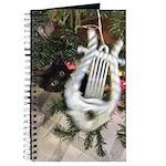 Christmas Tree Kitten Journal