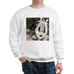 Christmas Tree Kitten Sweatshirt