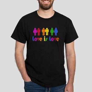 Love is Love Dark T-Shirt