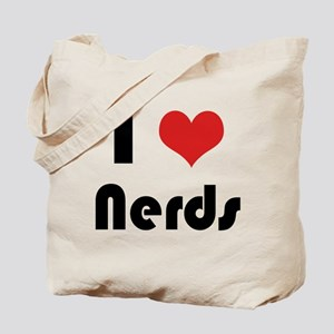 I Heart Nerds Tote Bag