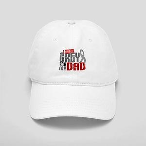 I Wear Grey For My Dad 6 Cap