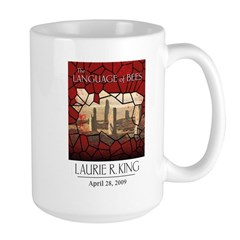 The Language of Bees Large Mug