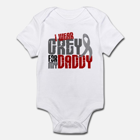 I Wear Grey For My Daddy 6 Infant Bodysuit
