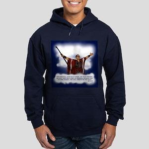 False Christ Hoodie (dark)