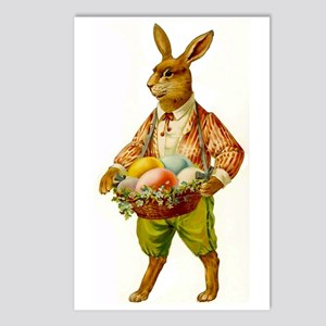 Antique Easter Bunny Postcards (Package of 8)