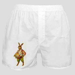 Antique Easter Bunny Boxer Shorts